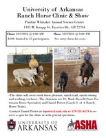 UA Ranch Horse Clinic and Show