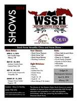 WSSH Event/ Crook County Fairgrounds