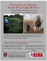 UA Ranch Horse Clinic & Show